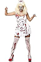Sofias Closet Womens Zombie Nurse Fancy Dress Costume Bloody Halloween Undead