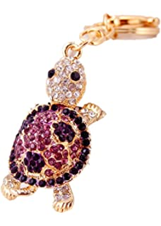 Amazon.com: reizteko Cute Tortugas de mar vidrio Rhinestone ...