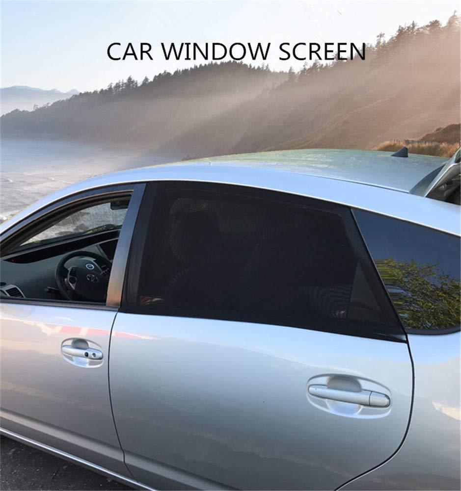Baiyouli Universal Car Sun Shade Vitres de Voiture Couvre Le c/ôt/é arri/ère Windows Protection UV 2-Pack