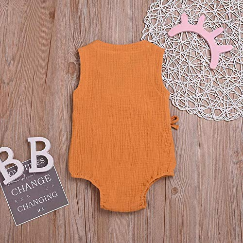 Amazon.com : Summer Toddler Infant Baby Boys Girls Cotton Linen ...