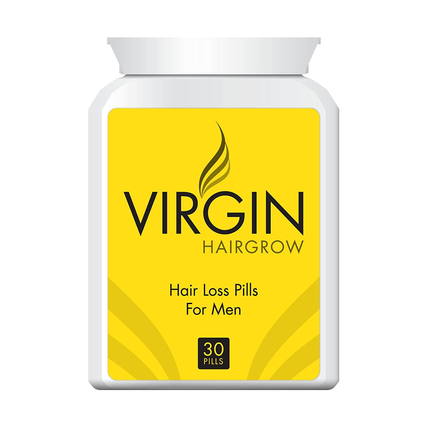 Virgin Hairgrow Uk's No.1 Stop Hair Loss and Baldness Treatment Pill!