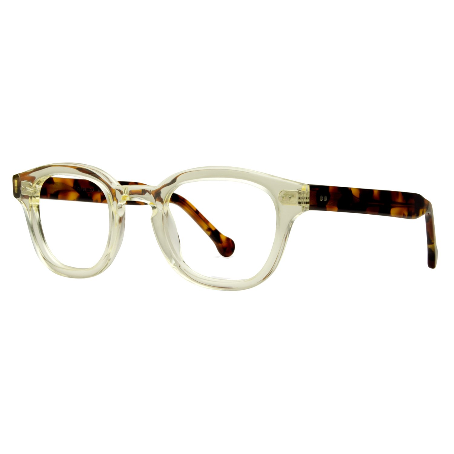 Photochromic Bifocal Readers, Transition from Clear Indoors to Sunglass Outdoors eyeOs Model 'OLIVER' Retro, Anti Glare