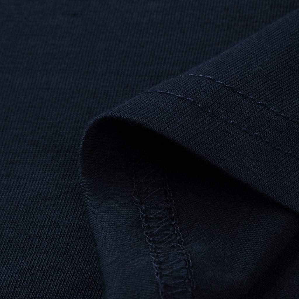 Photno Womens Casual Loose Solid Blouse Irregular Hem Sweatshirt Fashion Long Sleeve Pullover Tops