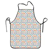 Best Fisher-Price Books For Baby Girls - Summer Rainbow Whale Cooking Aprons Professional Bib Apron Review