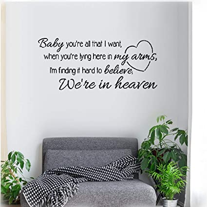 Amazon.com: Kiuya Wall Quotes Decal Wall Stickers Art Decor ...