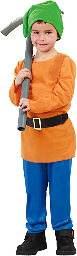Guirca - Disfraz de enanito con casaca y pantalón, para niños de 5 ...