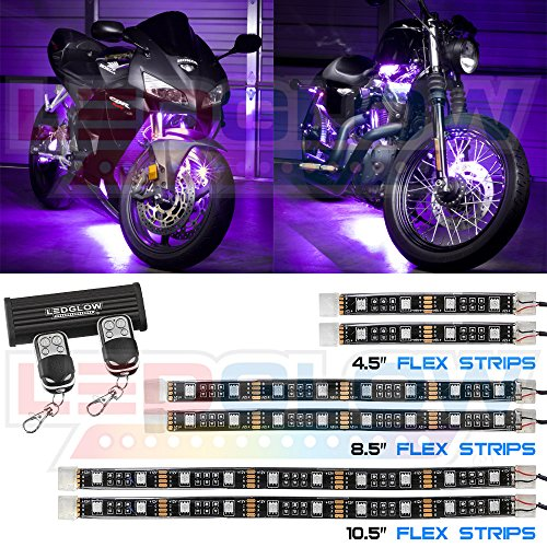 LEDGlow Advanced Flexible Motorcycle Wireless product image