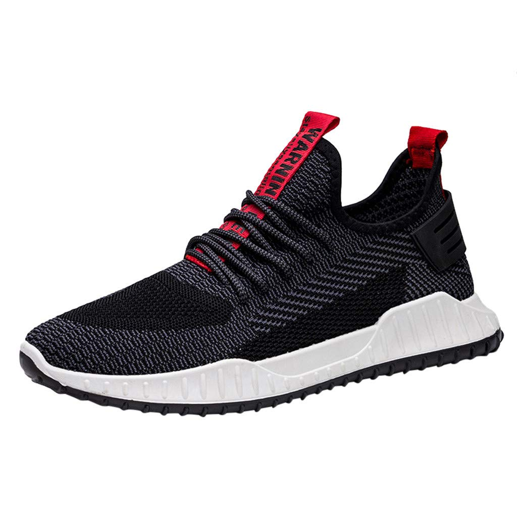 ✪COOLGIRLS✪~Shoes Men's Sneakers Mesh Ultra Lightweight Breathable Athletic Running Walking Gym Shoes Black by ✪COOLGIRLS✪~Shoes
