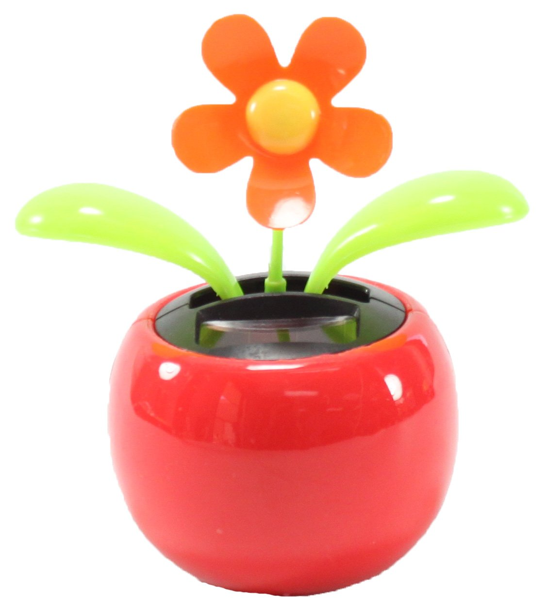 Amazon 4 Eco Friendly Bobblehead Solar Dancing Flowers In