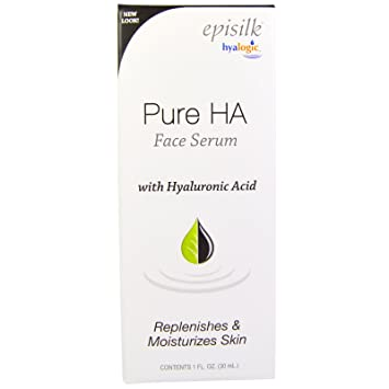 Hyalogic LLC, Episilk, Pure HA Face Serum, 1 fl oz(pack of 2) 2 Pack Aveeno Baby Natural Protection Face Stick Sunscreen, SPF 50 - 0.5oz Ea
