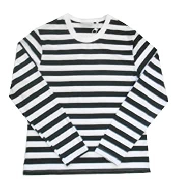 Unisex Adult Lightweight Striped Crew Neck. Oversized (See specs ...