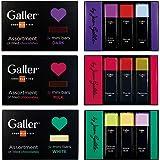 Galler ガレー チョコレート ミニバー3個入 (3セット ダーク&ミルク&ホワイト)