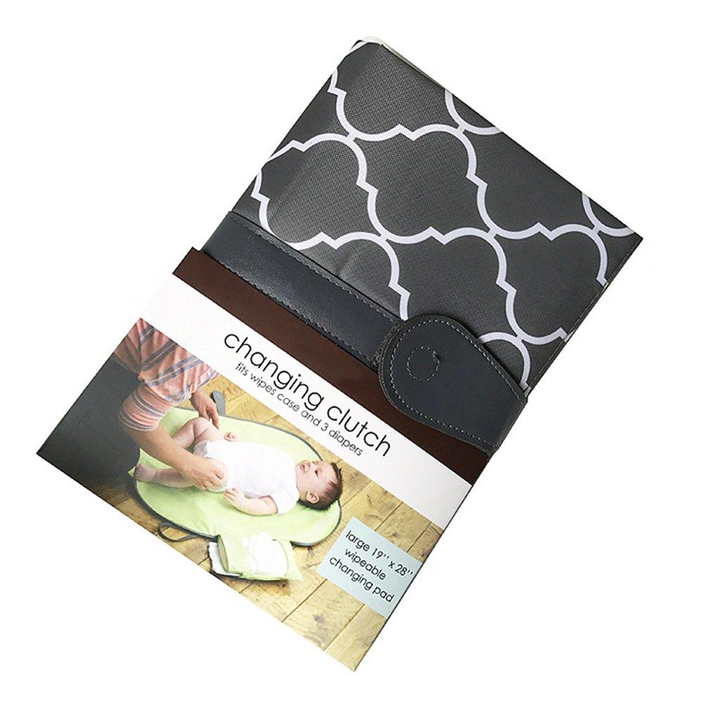 Portable Diaper Changing Pad Wickelunterlage Mini Tasche Wasserdicht f/ür Unterwegs Merlilife
