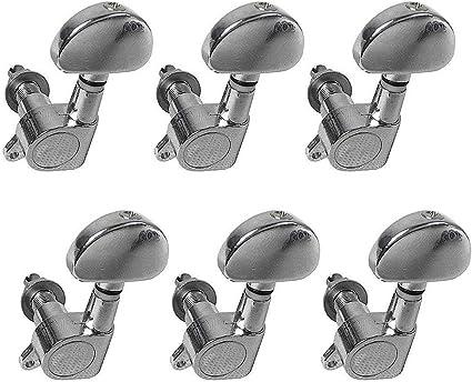 6 Piezas Head Tuners Piercing Cabezas para Guitarra Eléctrica ...