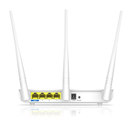 Tenda F3 N300 Router inalámbrico WiFi (3 Antenas de 5 dBI, 300 Mbps a 2.4 GHz, Chip Broadcom, Control Ancho de Banda, WPS, 1x Puerto WAN 10/100 Mbps 3 x ...