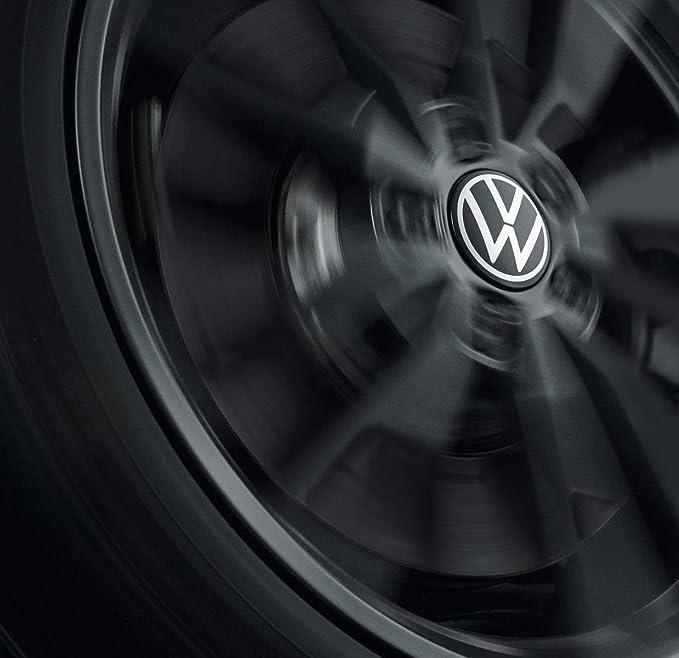 Volkswagen 000071213d Nabenkappe Für Lm Felge Dynamisch Mit Stehendem Logo Im Fahrbetrieb Auto