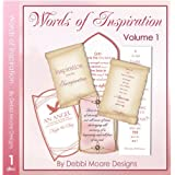 Debbi Moore Designs Words of Inspiration Vol 1 CD Rom (295118)