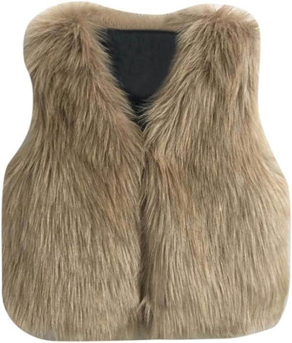 c3f007eeb Amazon.com  Tenworld Toddler Baby Girl Outerwear Winter Warm Faux ...