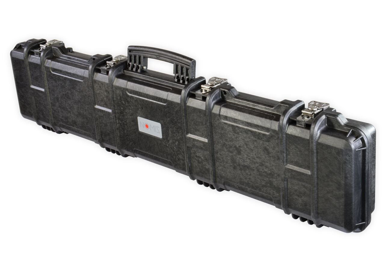 NOMIS Military Gun Case 125x30x13cm waterproof dust-tight black tough durable