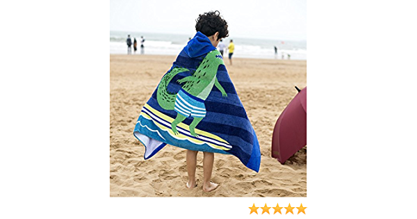 Soft Microfiber Summer Swimming Wetsuit Changing for Surf Swim Beach Polyester Beach Towel Sticker Superb 3D Bohemia Mandala Garden Flower Changing Robe Towel Poncho with Hood