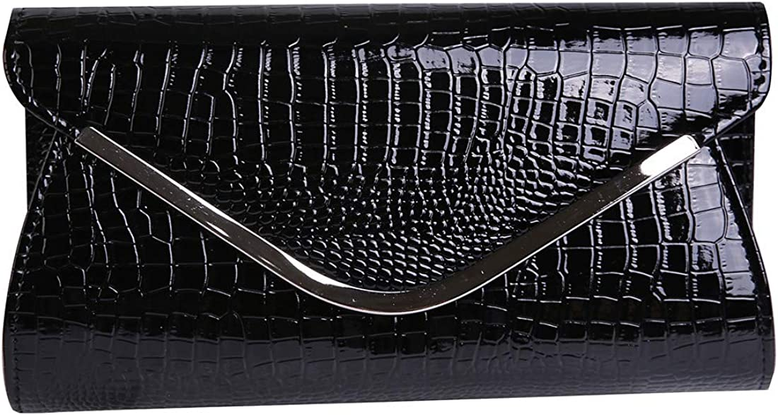 Envelope Clutch Patent Croc...