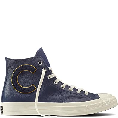 Converse Chuck Taylor CTAS 70 Hi Leather, Chaussures de Fitness Mixte Adulte, Rouge (Enamel Red/Wolf Grey/Egret 603), 41 EU