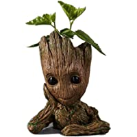 Guardians of The Galaxy Action Figures Baby Model Pen Holder Flowerpot Best Gift 16cm