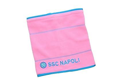 Scaldacollo uomo NAPOLI - ENZO CASTELLANO sciarpa tubolare in pile - Colore  rosa  Amazon.it  Abbigliamento 278522d1cf22