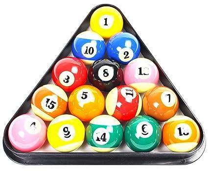 Beau Twinsisi Plastic 8 Ball Pool Billiard Table Rack Triangle Rack Plastic  Billiards Tripod Standard Size Black