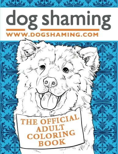 Dog Shaming Official Adult Coloring product image