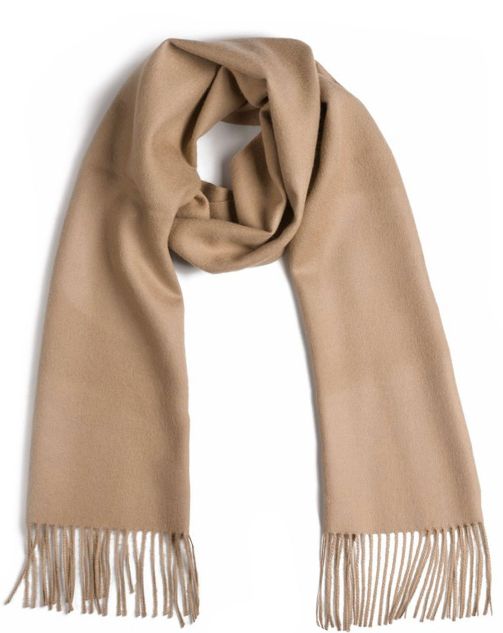 Luxurious 100% Premium Baby Alpaca Scarf - Ultimate Softness - for Men and Women (Fawn)