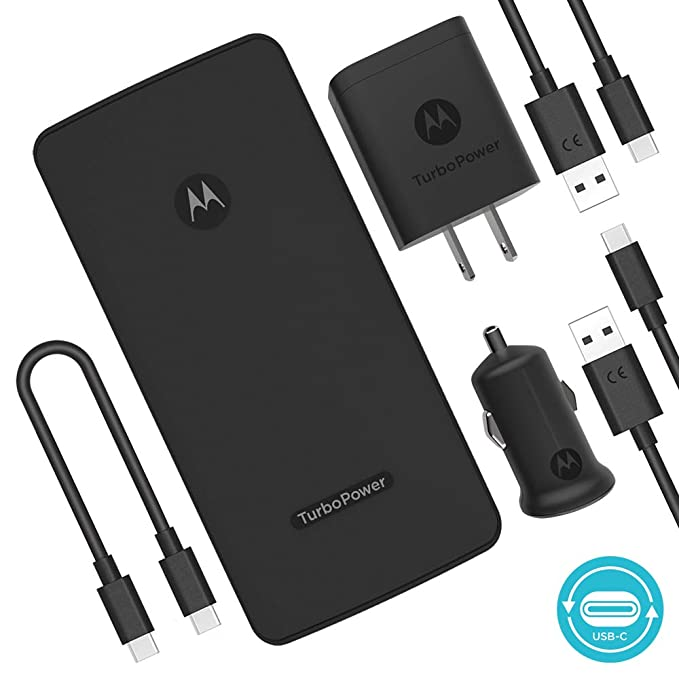Motorola Essentials USB-C TurboPower paquete de carga ...