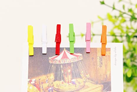 MSYOU 10 PCS Mini Wooden Clips Owl Pegs Message Photo Card Pins with Jute Twine for Wedding Party Home Garden Bedroom Wall Decorations