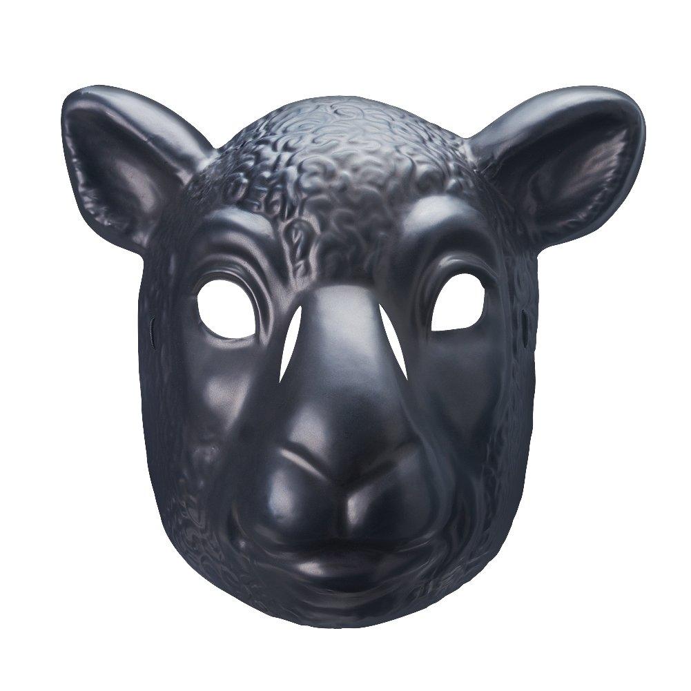 Wyatt Family Black Sheep Braun Stowman Plastic Halloween Party WWE Mask by WWE Authentic