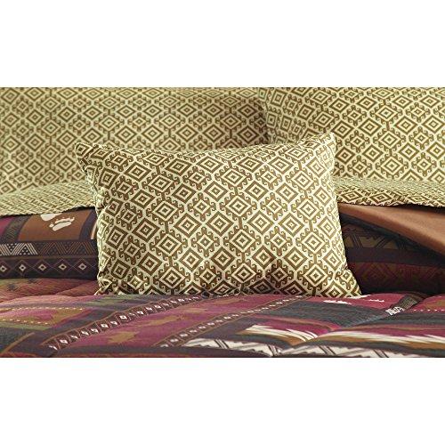Southwest Cabin Bear King Comforter Set 8 Piece Bed In A Bag