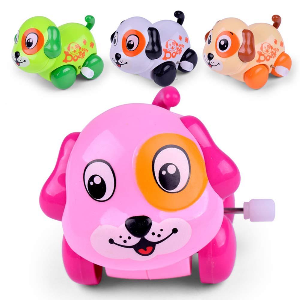 BrawljRORty Toys, Funny Cartoon Animal Cat Dog Lion Clockwork Toy Infant Kids Wind Up Xmas Gift