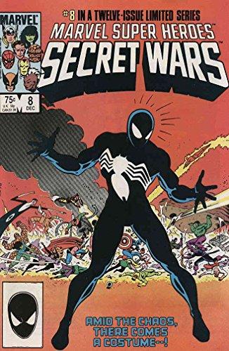 [Marvel Super Heroes Secret Wars #8 FN ; Marvel comic book] (25 Cents Costume)