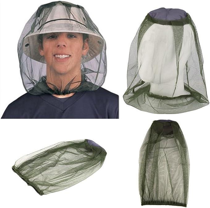 Moskito Kopfnetz Mückennetz Insektenschutz Gesichtsschutz feinste Löcher