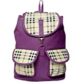 Roshiaaz Women's Canvas Multipocket Backpack with Adjustable and Comfortable Strap