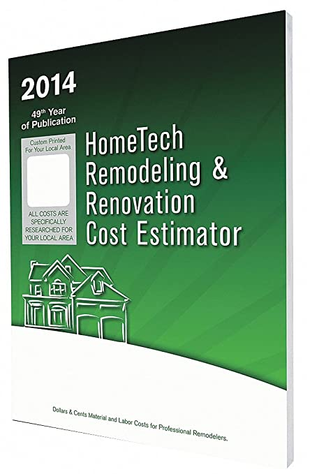 amazon com cost estimating book remodeling and renovation english