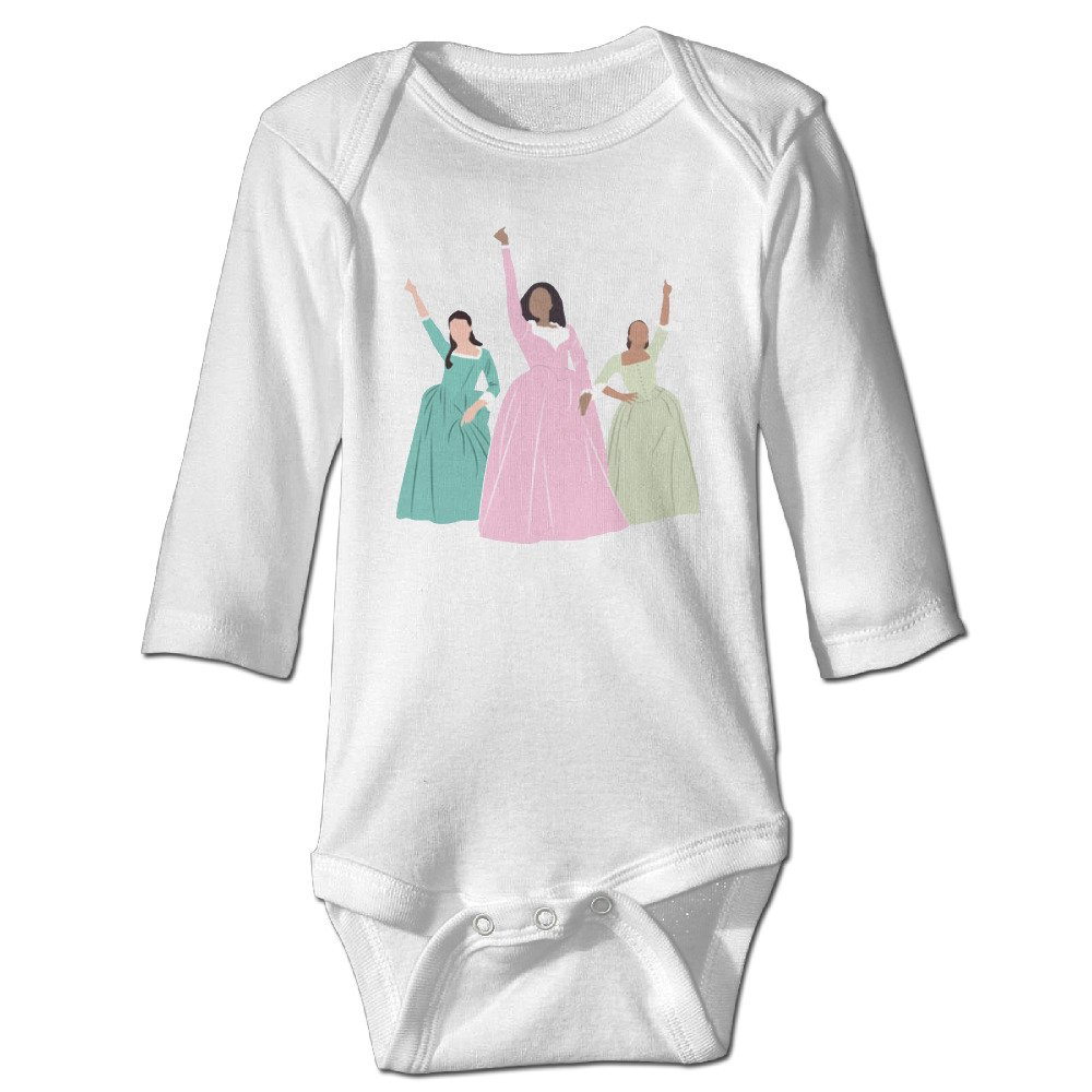 YOG MILK Schuyler Musical 3 Sisters Work Infant Babys Romper Long Sleeve Jumpsuit Climb Clothes