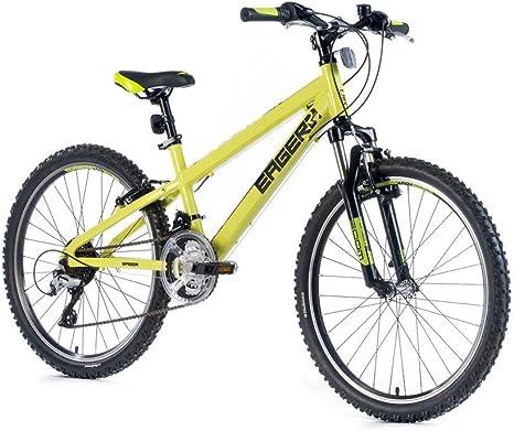 Leader Fox 24 pulgadas aluminio Dispuesto bicicleta de montaña ...