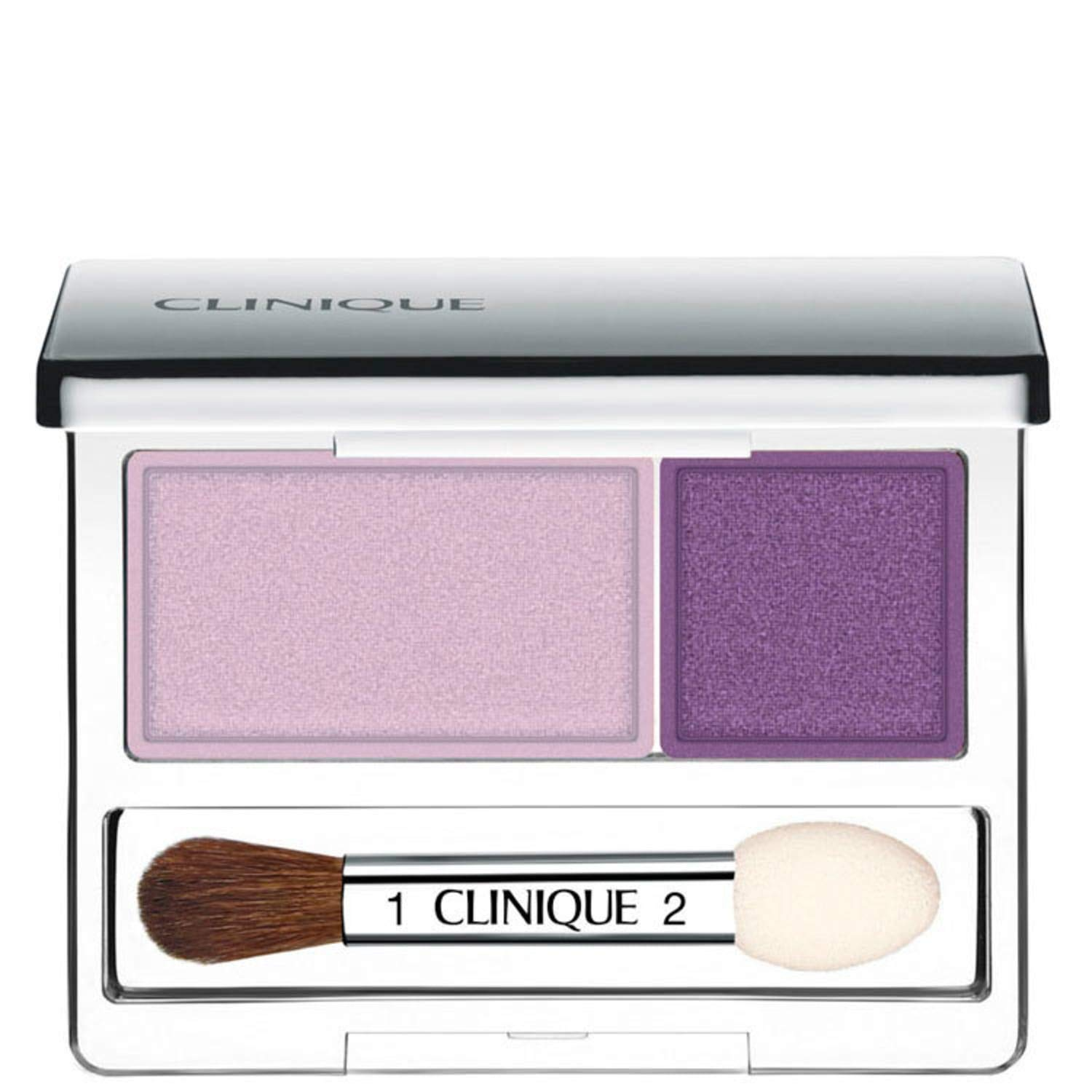New Item CLINIQUE ALL ABOUT SHADOW EYE SHADOW 0.07 OZ CLINIQUE/ALL ABOUT SHADOW DUO TWILIGHT MAUVE/BRANDIED PLUM .07 OZ VIOLET AND PURPLE SHIMMER