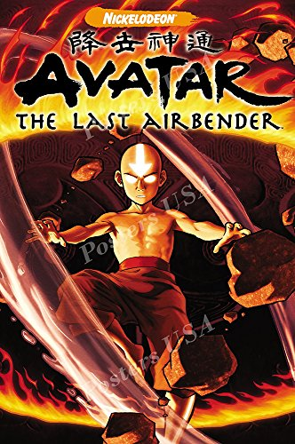 Posters USA Avatar The Last Airbender TV Series Show Poster GLOSSY FINISH - TVS454 (24