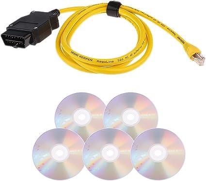 Sharplace 23.4 v50.3 Cable ENET Ethernet OBD Interface E-SYSicom Code pour BMW