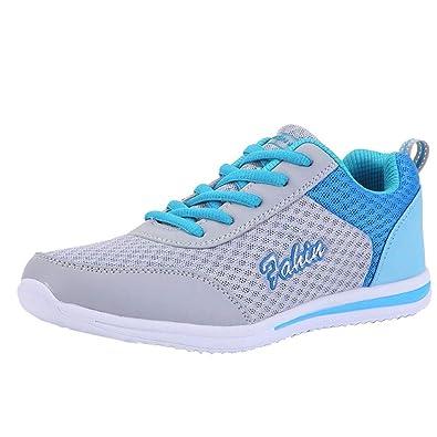 Lacets Filles Mesh Sport De Basses Baskets Chaussures Femme Solike ARjqL354