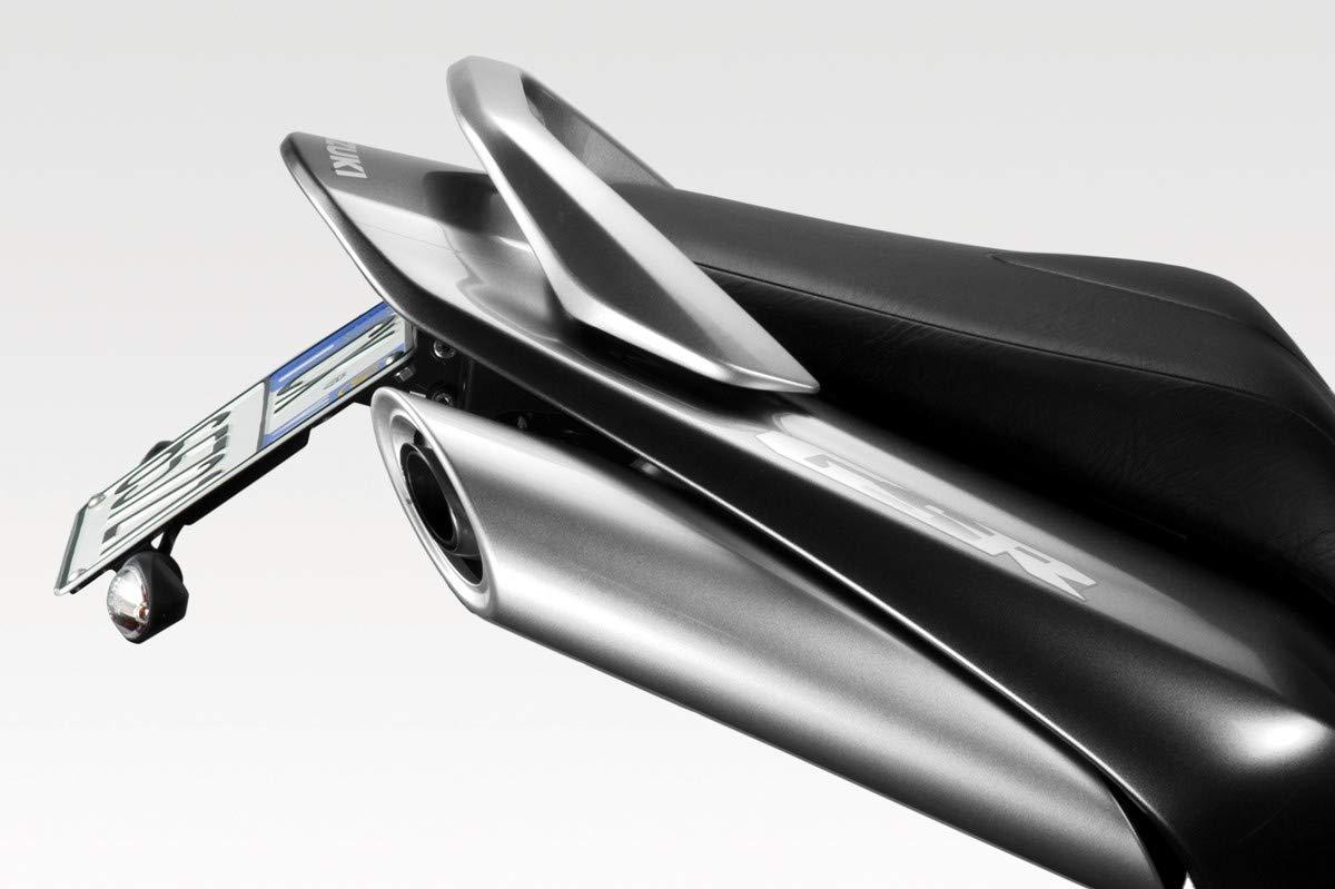 - Soporte de Matricula Inclinaci/ón Ajustable Kit Placa DPM R-0590 Accesorios De Pretto Moto - 100/% Made in Italy GSR600 2006//10 Luz LED y Torniller/ía Incluido