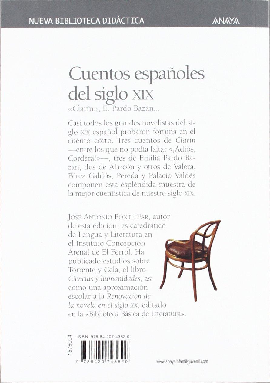 Cuentos españoles del siglo XIX Clásicos - Nueva Biblioteca Didáctica: Amazon.es: Varios, Ponce, José María, Ponte Far, José A.: Libros
