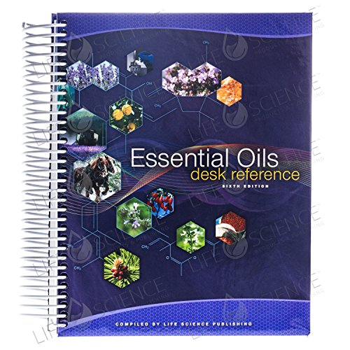 Essential Oils Pocket Reference by Life Science Publishing (2014) Spiral-bound