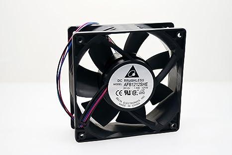 Ultra fuerte 12 cm ventilador de refrigeración de 12 V CC. 200 CFM ...